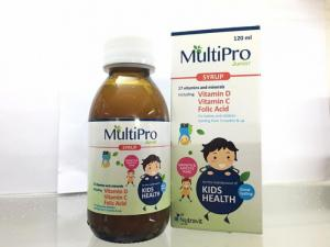 Multi Pro giúp bổ sung vitamin và khoáng chất cho trẻ