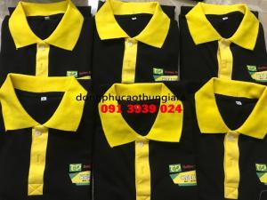 Xưởng chuyên may áo thun đồng phục, áo thun quảng cáo in thêu logo theo yêu cầu