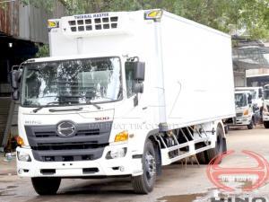 Xe tải đông lạnh Hino 8 tấn, xe tải hino...