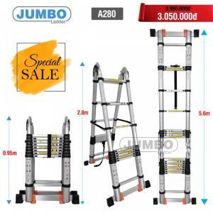Thang nhôm cao cấp Jumbo A280
