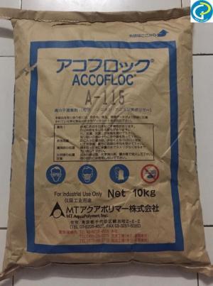 Chất keo tụ, lắng tụ trong nuôi trồng thủy sản Accofloc A115