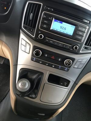 Bán Hyundai Starex 2.5MT máy dầu số sàn 9 chỗ màu ghi xám nhập Hàn Quốc 2016 mẫu mới