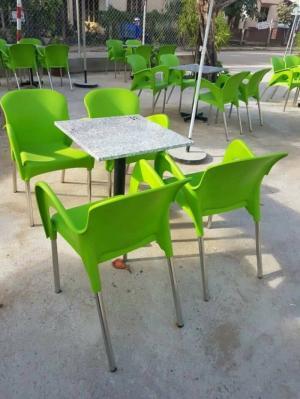 Bàn ghế nhựa đúc giá rẻ VD234