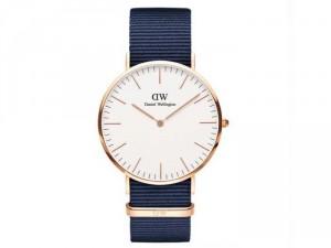 Đồng hồ nữ Daniel Wellington Classic BAYSWATER dây Nato (màu Midnight Blue)