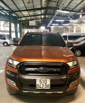 Bán Ford Wiltrack 3.2L sx 2k16 màu cam