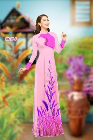 Vải áo dài đẹp in 3D AH LUA