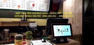 Liên hệ lắp đặt máy tính tiền cảm ứng cho Quán Trà Sữa tại Bắc Ninh
