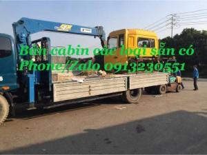 Bán đầu cabin xe tải Dongfeng Hoàng Huy, Việt...