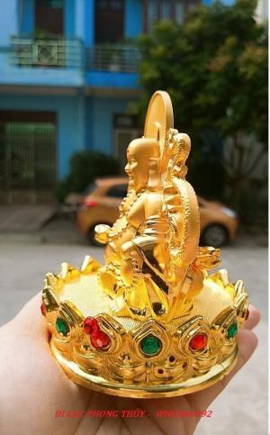 Tượng Đức Phật Di Lặc Nước Hoa Phong Thủy Tài Lộc Ô Tô