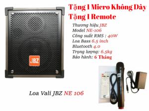 Loa Kéo JBZ NE-106 Công Suất 40W Tặng 1 Mic