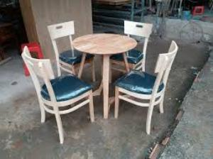 Bàn ghế cafe ka bin giá rẻ tại xưởng sản xuất HGH 00022