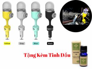 Máy Phun Sương Ô Tô Nanum Car III 2 USB Mới 2018 + Tặng Tinh Dầu