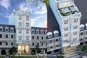 Thiết kế khách sạn đẹp tại Hà Nội