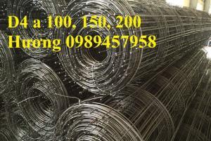 Lưới thép hàn phi 4 a 200x200, ô 150x150, 100x100 tại Hà Nội