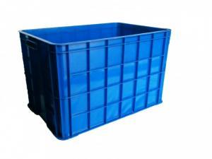 Thùng nhựa rỗng/đặc kích thước 610x420x390 mm