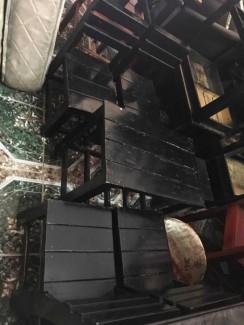 Bàn ghế gỗ sơn Pu đẹp,chất lượng
