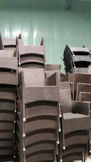 Cần bán gấp lô ghế nhựa mây tại kho