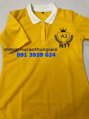 Đồng phục áo thun giá rẻ, chuyên nhận may áo thun theo yêu cầu