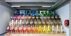 Thanh lý lô ghế nhựa nhìu màu