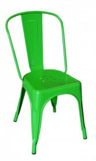 Ghế nhựa mày xanh lá cây