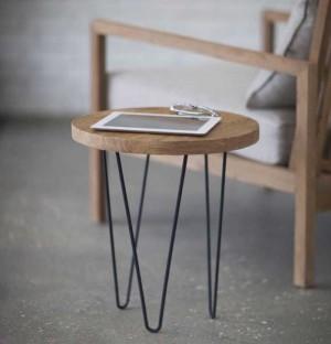 Ghế gỗ có chân trụ thấp