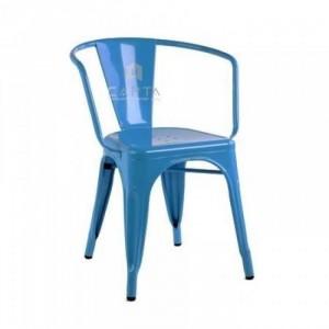 Ghế tolix có lưng tựa nhiều màu sắc