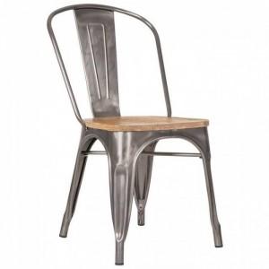 Ghế tựa lưng sắt có nhiều màu sắc phong cách cho kinh doanh