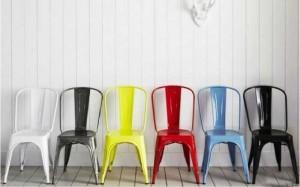 Thanh lý lô ghế tolix giá rẻ nhiều màu sắc