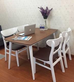 Bộ bàn ghế kinh doanh nhà hàng