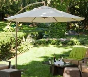 Dù lệch tâm giá rẻ cho sân vườn