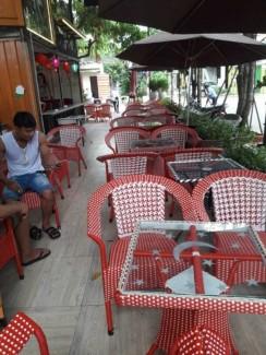 Xã kho lô ghế nhựa giả mây giá rẻ