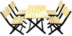 Thanh lý bàn ghế gỗ xếp giá rẻ