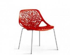 Ghế nhựa chân sắt giá rẻ cho kinh doanh cafe, nhận thiết kế theo yêu cầu