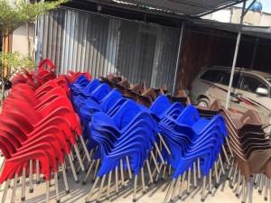Xưởng sản xuất xã hàng lô ghế nhựa cafe giá rẻ