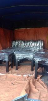 Ghế gỗ cafe nhỏ, gỗ bền lâu
