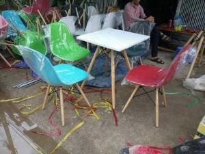 Lô ghế nhựa mới 100%