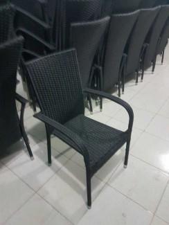 Ghế nhựa mây đen,giá tốt