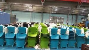 Lô ghế nhựa dùng trong trường mầm non