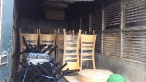Ghế gỗ kinh doanh quán ăn