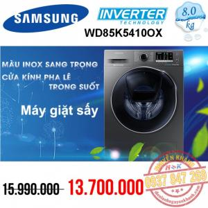 Máy giặt Samsung Inverter WD85K5410OX/SV 8kg