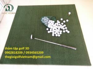 Thảm tập golf 3D cho người mới tập chơi hàng nhập khẩu
