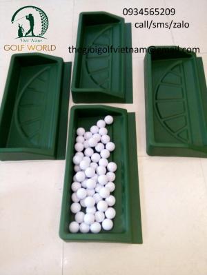 Khay chứa bóng  golf, Khay đựng banh golf bằng nhựa