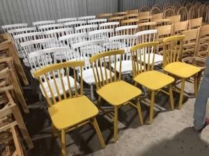 Xả kho ghế gỗ nhìu màu