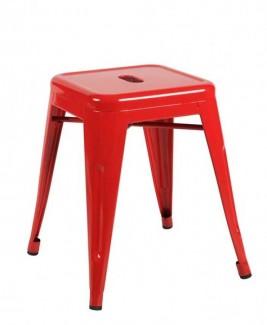 Ghế toelix màu đỏ chân thấp