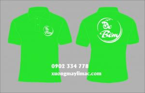 nhận in ấn logo lên áo thun làm đồng phục quán ăn , quán nhậu , quán ốc , quán lẩu , quán bún , quán cafe