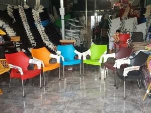 Ghế nhựa cafe, bộ bàn ghế cafe