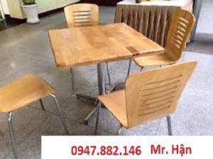 Bàn ghế cà phê sân vườn giá tại xưỡng