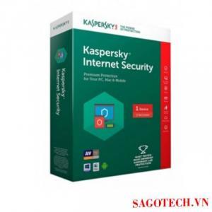 Phần Mềm Kaspersky Internet Securiti 1 Pc