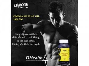 Alfa 369 (Omega 369 – Tinh dầu lanh hữu cơ 1000 mg)