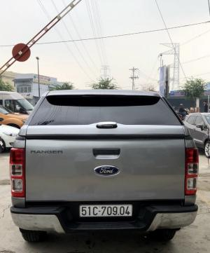 Bán Ford Ranger 4x4MT sx 2015 màu bạc
